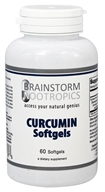 Brainstorm Nootropics - Curcumin Softgels - 60 Softgels