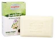 Soapbox Soaps - All Natural Bar Soap Tea and Ginger - 5 oz.