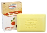 Soapbox Soaps - All Natural Bar Soap Mandarin - 5 oz.