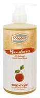 Soapbox Soaps - All Natural Liquid Hand Soap Mandarin - 12 oz.