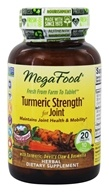 MegaFood - Turmeric Strength for Joint - 20 Tablets