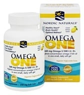 Nordic Naturals - Omega One Lemon 560 mg. - 30 Softgels
