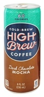 High Brew - Cold-Brew Coffee Dark Chocolate Mocha - 8 oz.