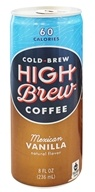 High Brew - Cold-Brew Coffee Mexican Vanilla - 8 oz.