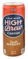 High Brew - Cold-Brew Coffee Double Espresso - 8 oz.
