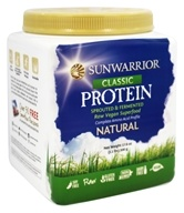 Sun Warrior - Classic Protein Natural - 1.1 lbs.