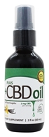 Plus CBD Oil - Total Plant Complex 1mg Spray Vanilla - 2 oz.