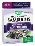 Nature's Way - Max Potency Sambucus - 18 Softgels