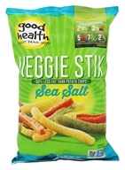 Good Health Natural Foods - Veggie Stix Sea Salt - 6.75 oz.