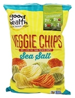 Good Health Natural Foods - Veggie Chips Sea Salt - 6.75 oz.
