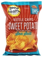 Good Health Natural Foods - Sweet Potato Kettle Chips Sea Salt - 5 oz.