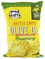 Good Health Natural Foods - Olive Oil Kettle Chips Rosemary - 5 oz.