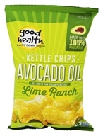 Good Health Natural Foods - Avocado Oil Kettle Chips Lime Ranch - 5 oz.