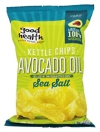 Good Health Natural Foods - Avocado Oil Kettle Chips Sea Salt - 5 oz.