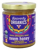 100 % de miel de neem cruda orgánica - 12 oz. by Heavenly Organics