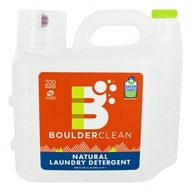 Boulder Cleaners - Natural Liquid Laundry Detergent - 200 oz.