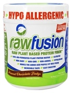 SAN Nutrition - RawFusion Plant Based Protein Peanut Chocolate Fudge - 16.5 oz.