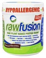 SAN Nutrition - RawFusion Plant Based Protein Natural Chocolate - 15.9 oz.