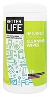 Natural All Purpose Cleaning Wipes Clary Sage and Citrus - 70 Wipe(s) by Better Life