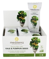 Mediterra - Savory Bar Kale and Pumpkin Seeds - 12 Bars