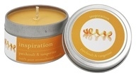Tru Melange - 100% Pure Aromatherapy Candle Inspiration Patchouli and Tangerine - 3.5 oz.