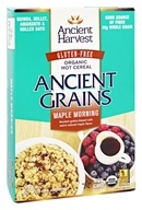 Ancient Harvest Quinoa - Ancient Grains Organic Gluten-Free Hot Cereal Maple Morning - 6 Packet(s)