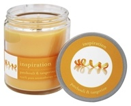 Tru Melange - 100% Pure Aromatherapy Candle Inspiration Patchouli and Tangerine - 8 oz.