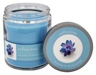 Tru Melange - 100% Pure Aromatherapy Candle Reflection Lavender and Blood Orange - 8 oz.