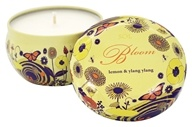 Tru Melange - Sol Bloom 100% Pure Aromatherapy Candle Lemon and Ylang Ylang - 7 oz.