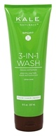 Kale Naturals - Sport 3-In-1 Wash Citrus Scent - 8 oz.