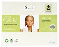 SOL - 100% Organic Cotton Restoring Calm Neck Wrap Lavender Scented