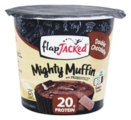 FlapJacked - Mighty Muffin with Probiotics Double Chocolate - 1.94 oz.