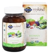 Garden of Life - mykind Organics B Complex Once Daily - 30 Vegetarian Tablets