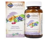 Garden of Life - mykind Organics Prenatal Once Daily Whole Food Multivitamin - 90 Vegetarian Tablets
