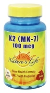 Nature's Life - K2 (MK-7) 100 mcg. - 60 Tablets