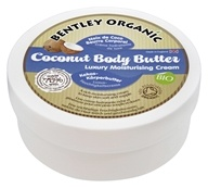 Bentley Organic - Coconut Body Butter Luxury Moisturizing Cream - 6.76 oz.