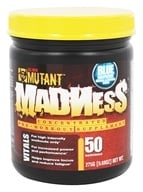 Mutant - Madness Concentrated Pre-Workout Supplement Blue Raspberry - 9.69 oz.