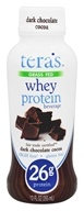 Tera's Whey - Whey Protein RTD Beverage Dark Chocolate Cocoa - 12 oz.