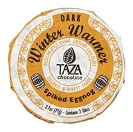 Taza Chocolate - Organic Dark Chocolate Discs Winter Warmer Egg Nog - 2.7 oz.