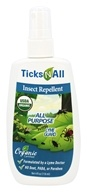 Ticks-N-All - Organic All Purpose with Insect Repellent Lyme Guard - 4 oz.