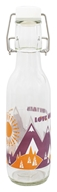Love Bottle - Glass Water Bottle Mountain Air - 500 ml.