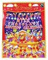 Divine - Chocolate Advent Calendar Milk Chocolate - 3 oz.