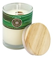 Terra Essential Scents - Massage & Intention Soy Candle Prosperity - 2.5 oz.