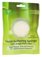 The Healing Tree - Facial Softening Sponge White