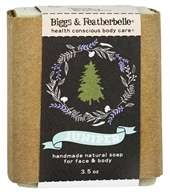 Biggs & Featherbelle - Handmade Natural Bar Soap Juniper - 3.5 oz.