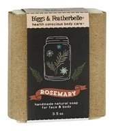 Biggs & Featherbelle - Handmade Natural Bar Soap Rosemary - 3.5 oz.