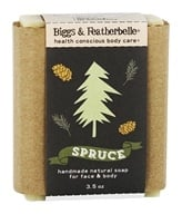 Biggs & Featherbelle - Handmade Natural Bar Soap Spruce - 3.5 oz.