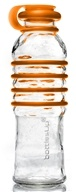 BottlesUp - Glass Water Bottle Orange - 22 oz.