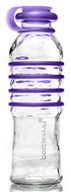 BottlesUp - Glass Water Bottle Purple - 22 oz.