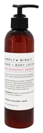 Simply Birgit - Hand + Body Lotion Pink Grapefruit Bergamot - 8 oz.